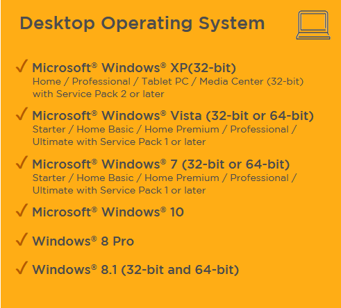 desktop operating system